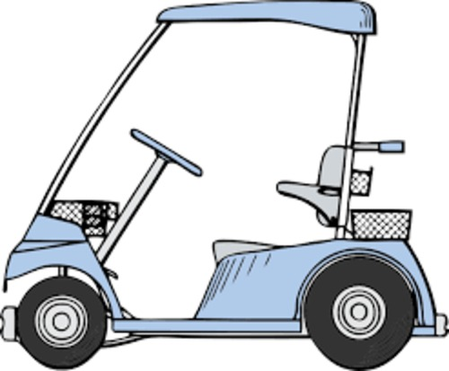 Product picture EZ GO 1996 ELECTRIC GOLF CART PARTS & SERVICE MANUAL