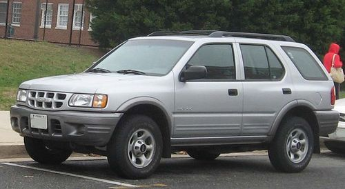 Product picture ISUZU RODEO 1998-2004 REPAIR SERVICE MANUAL